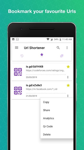 URL Shortener Android Application Image 4
