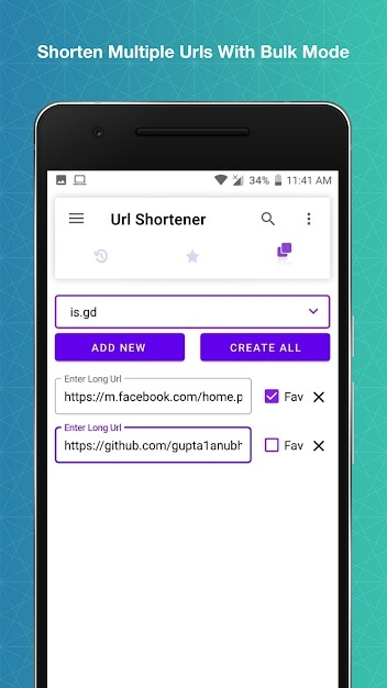 URL Shortener Android Application Image 5