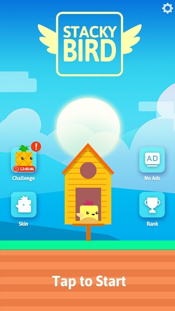 Stacky Bird: Hyper Casual Flying Birdie Game Android Game Image 1