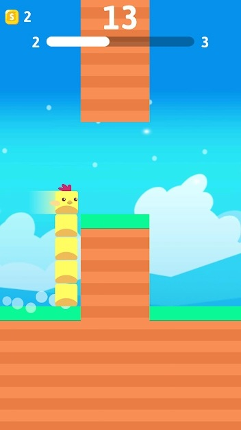 Stacky Bird: Hyper Casual Flying Birdie Game Android Game Image 2