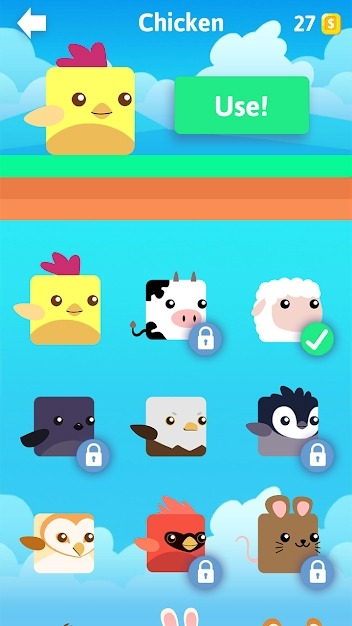 Stacky Bird: Hyper Casual Flying Birdie Game Android Game Image 4