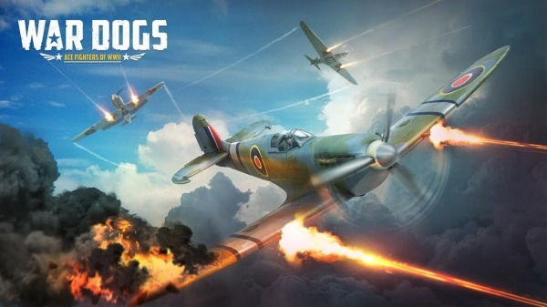 War Dogs : Air Combat Flight Simulator WW II Android Game Image 1