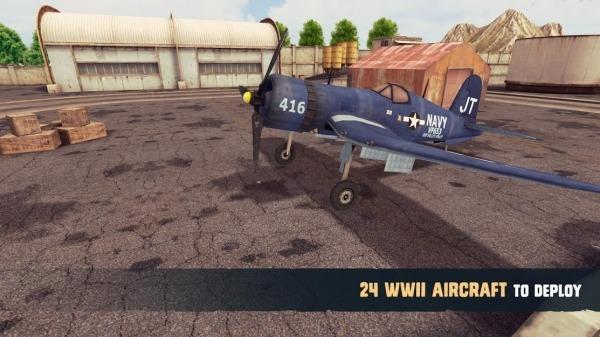 War Dogs : Air Combat Flight Simulator WW II Android Game Image 2