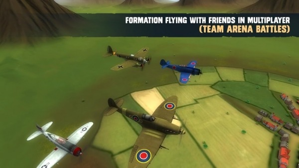 War Dogs : Air Combat Flight Simulator WW II Android Game Image 3