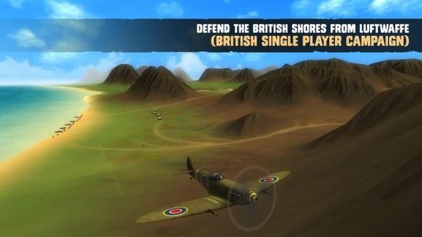 War Dogs : Air Combat Flight Simulator WW II Android Game Image 5