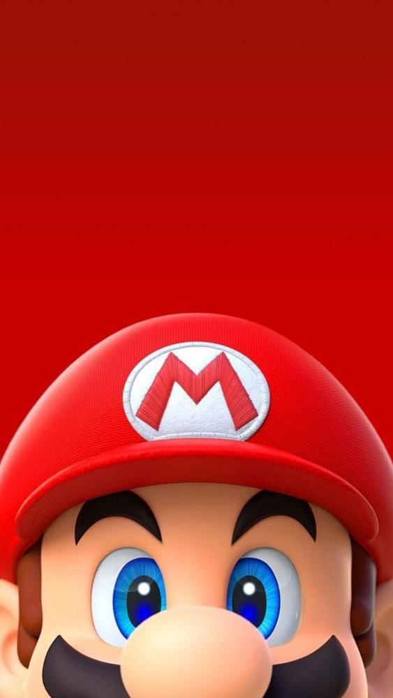 Mario Mobile Phone Wallpaper Image 1