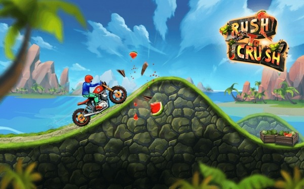 Rush To Crush Bike Racing Android Game Image 1