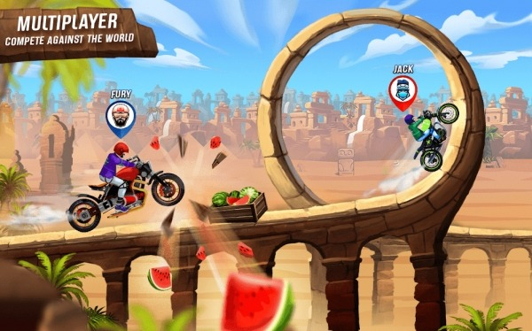 Rush To Crush Bike Racing Android Game Image 2