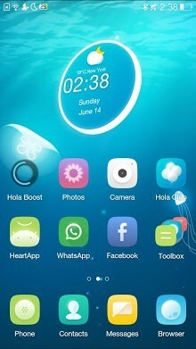 Jellyfish Hola Launcher Android Theme Image 1