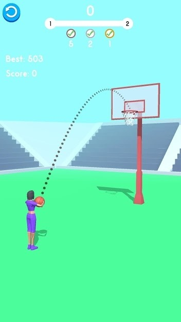 Ball Pass 3D Android Game Image 1