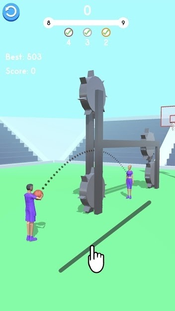 Ball Pass 3D Android Game Image 5