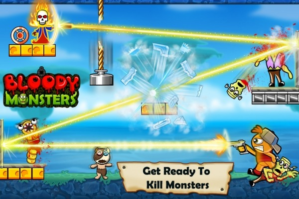 Bloody Monsters Android Game Image 1