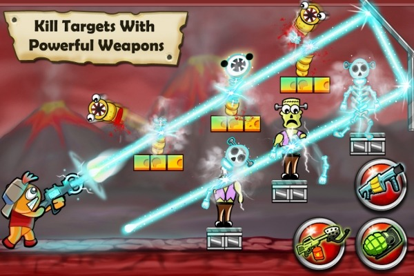 Bloody Monsters Android Game Image 2