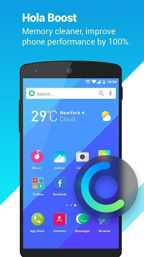 Hola Launcher Android Application Image 3