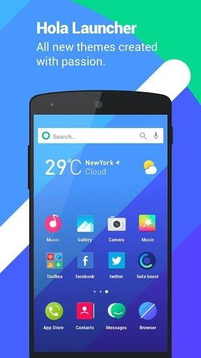 Hola Launcher Android Application Image 5