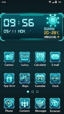Future Tech Hola Launcher Android Theme Image 1