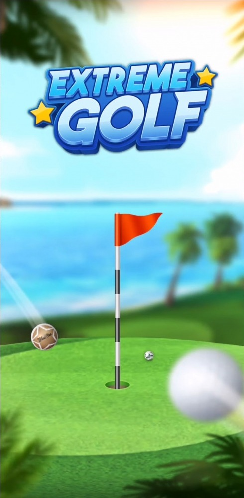 Extreme Golf - 4 Player Battle Android Game Image 1