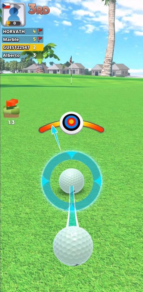 Extreme Golf - 4 Player Battle Android Game Image 4