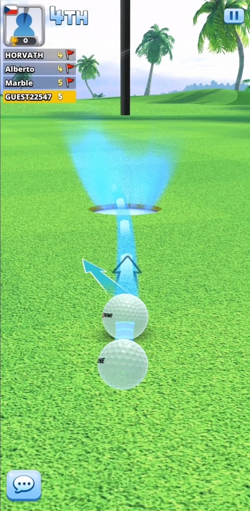 Extreme Golf - 4 Player Battle Android Game Image 5