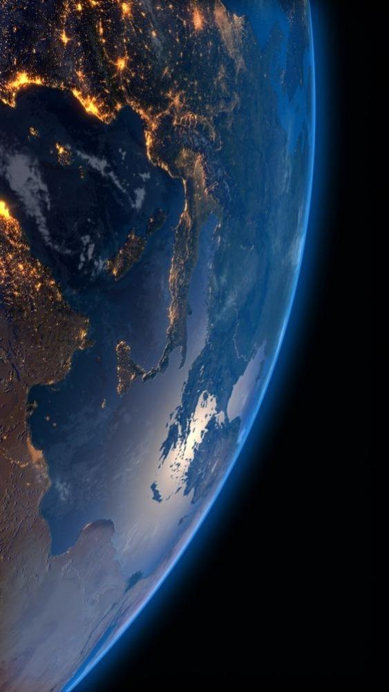 Earth Mobile Phone Wallpaper Image 1