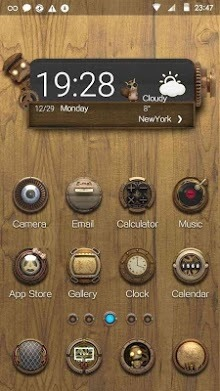 Steam Punk Hola Launcher Android Theme Image 1