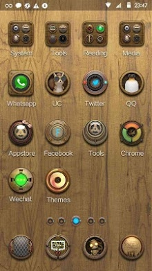 Steam Punk Hola Launcher Android Theme Image 2