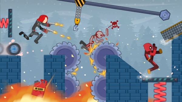 Stick Destruction - Battle Of Ragdoll Warriors Android Game Image 2