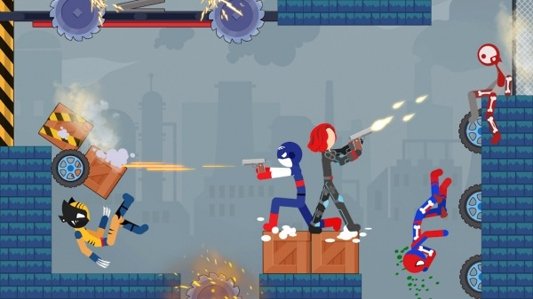 Stick Destruction - Battle Of Ragdoll Warriors Android Game Image 3