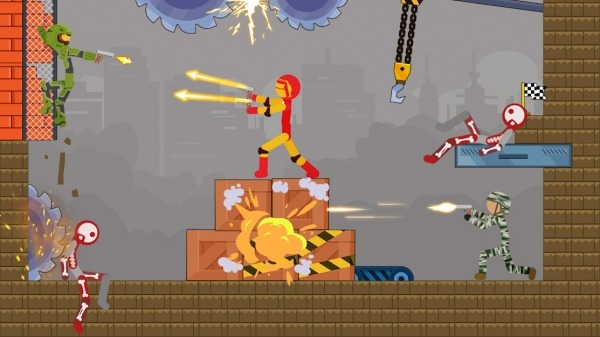 Stick Destruction - Battle Of Ragdoll Warriors Android Game Image 4