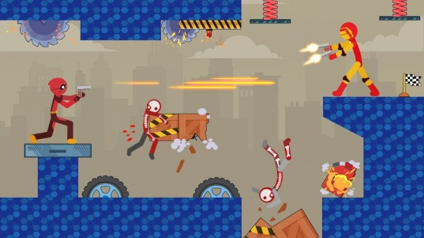 Stick Destruction - Battle Of Ragdoll Warriors Android Game Image 5