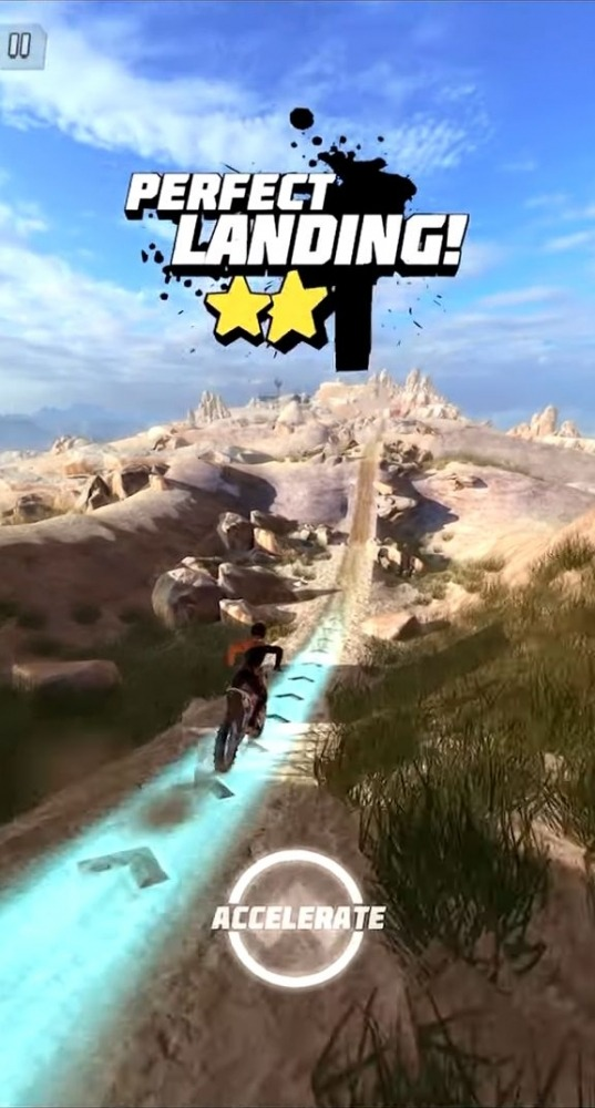 Dirt Bike Unchained Android Game Image 1