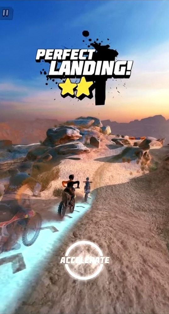 Dirt Bike Unchained Android Game Image 2