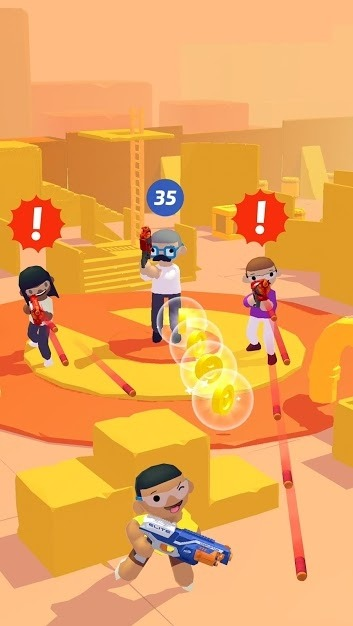 NERF Epic Pranks! Android Game Image 1