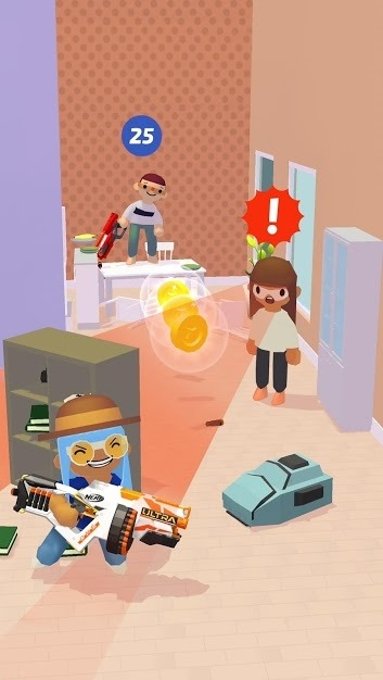 NERF Epic Pranks! Android Game Image 2