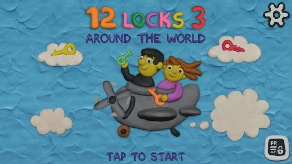 12 LOCKS 3: Around The World Android Game Image 1