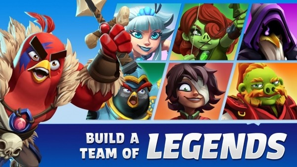 Angry Birds Legends Android Game Image 2