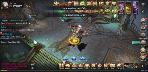 Deity Fallen Android Game Image 1