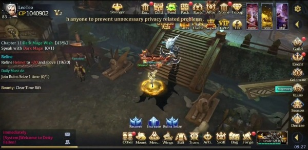 Deity Fallen Android Game Image 4