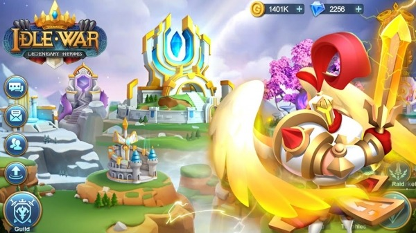 Idle War: Legendary Heroes Android Game Image 1