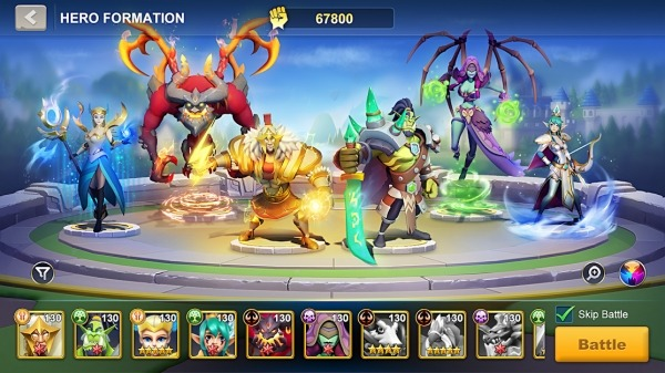 Idle War: Legendary Heroes Android Game Image 2