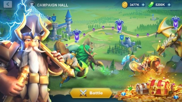 Idle War: Legendary Heroes Android Game Image 3