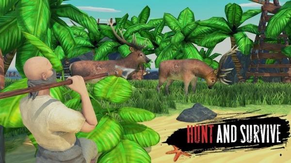 Raft Survival: Lost On Island - Simulator Android Game Image 1