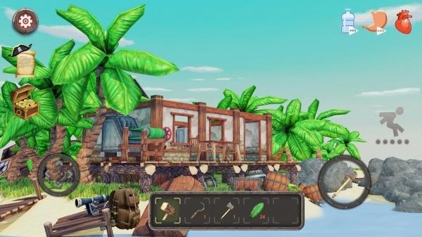 Raft Survival: Lost On Island - Simulator Android Game Image 4