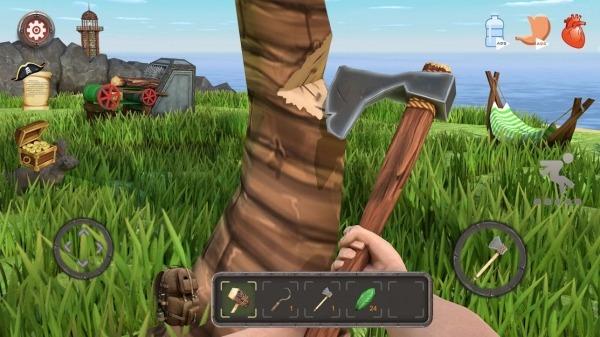 Raft Survival: Lost On Island - Simulator Android Game Image 5
