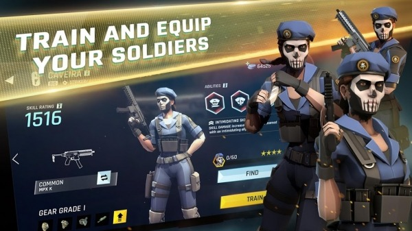 Tom Clancy's Elite Squad Android Game Image 1