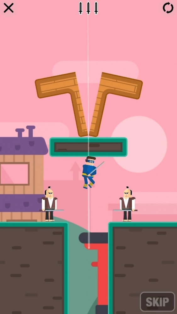 Mr Ninja - Slicey Puzzles Android Game Image 1