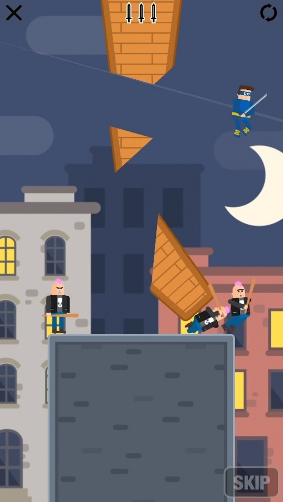 Mr Ninja - Slicey Puzzles Android Game Image 2