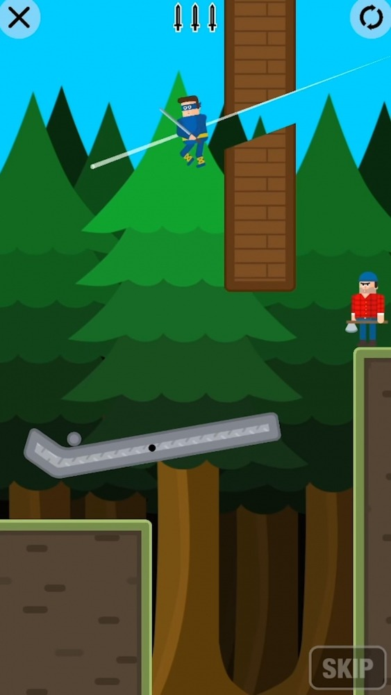 Mr Ninja - Slicey Puzzles Android Game Image 5