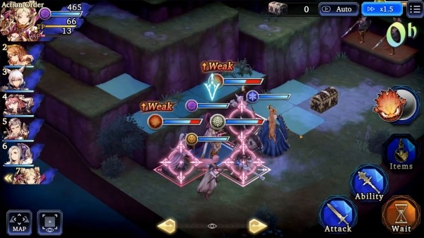 WAR OF THE VISIONS FFBE Android Game Image 2