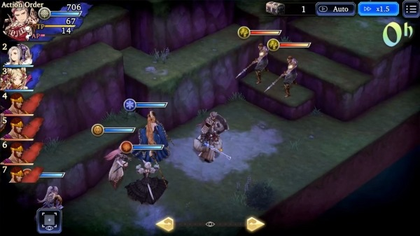 WAR OF THE VISIONS FFBE Android Game Image 3